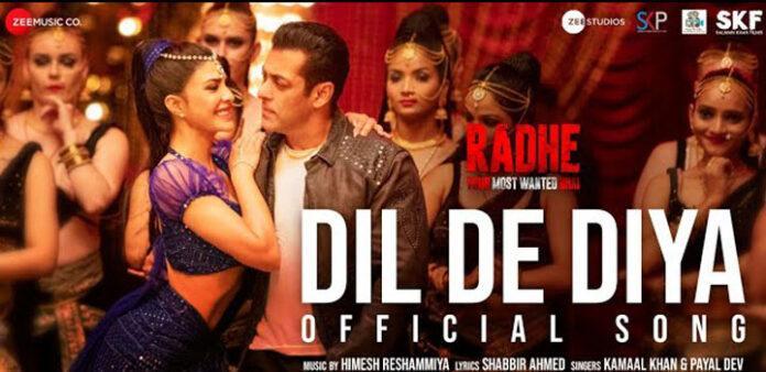 Dil De Diya Lyrics in Hindi