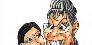 Funny-Jokes-In-Hindi, पिंकी-ने-पड़ोसन-को-दिया-मजेदार-जवाब