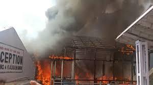 वैष्णो देवी मंदिर के पास लगी आग