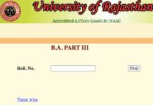 BA-Final-Year-Result-2021, Rajasthan-University-BA-Final-Year-Result